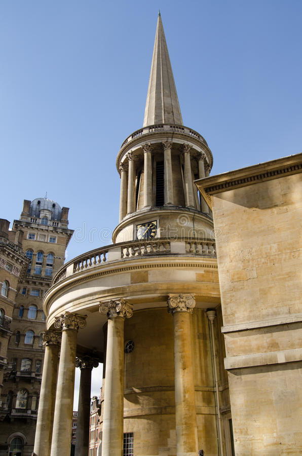 Download All Souls Church, Langham Place Stock Image - Image: 33944599