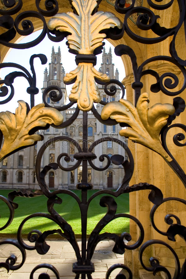 Download All Souls College And Gate, Oxford Royalty Free Stock Image - Image: 12903106