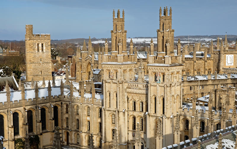 All Souls College stock photo