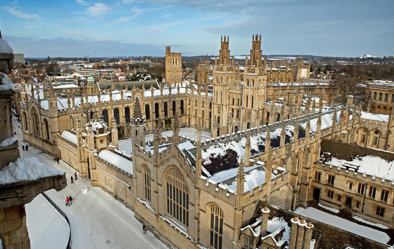 All Souls College royalty free stock photography