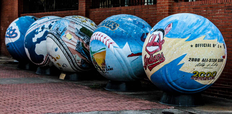2000 all-star baseballi fotografia stock