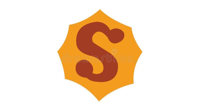 All Star Superman logo version 2 stock illustration