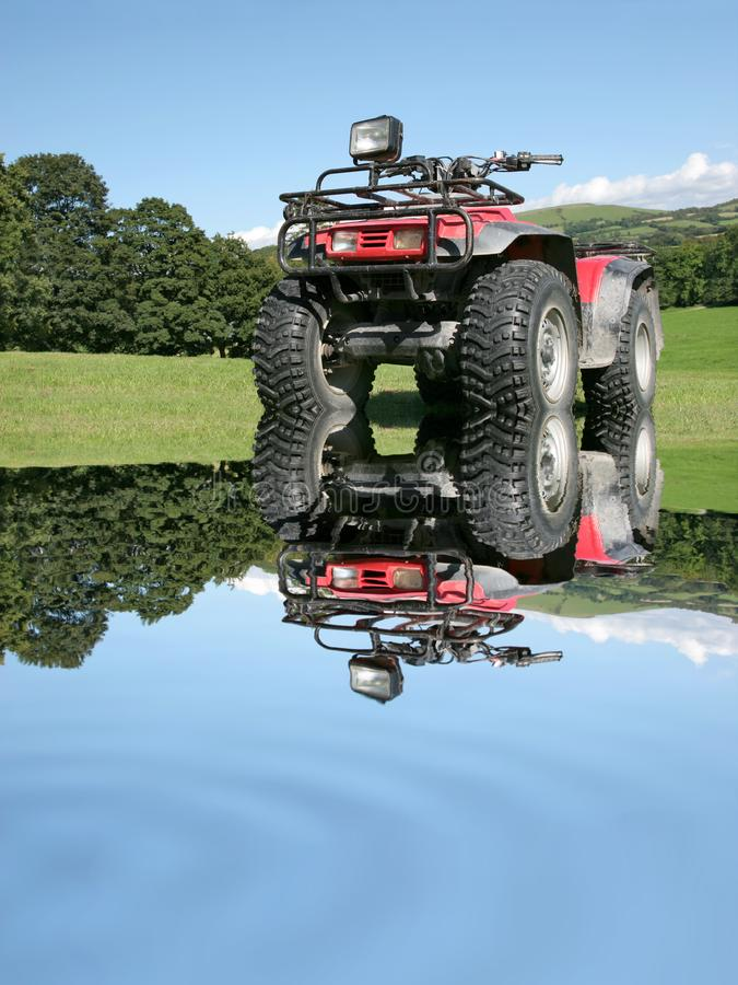 All Terrain Quad Bike royalty free stock photography