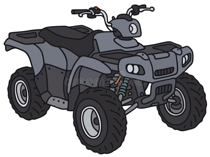 All terrain vehicle vector illustration