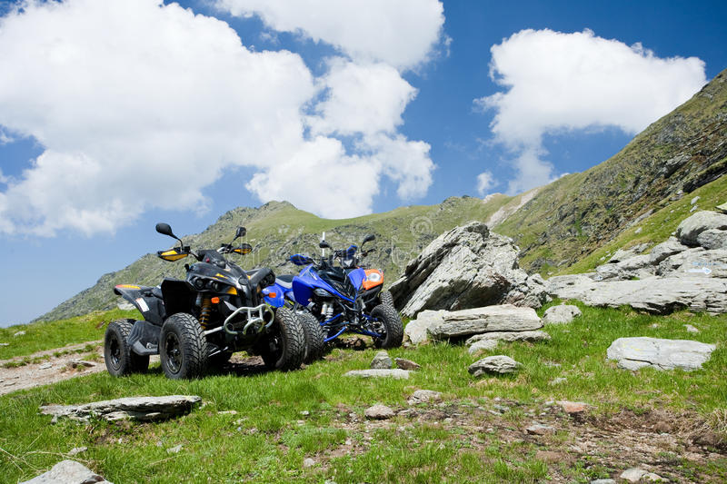 Download All Terrain Vehicles Offroad On Mountain Stock Images - Image: 9969924