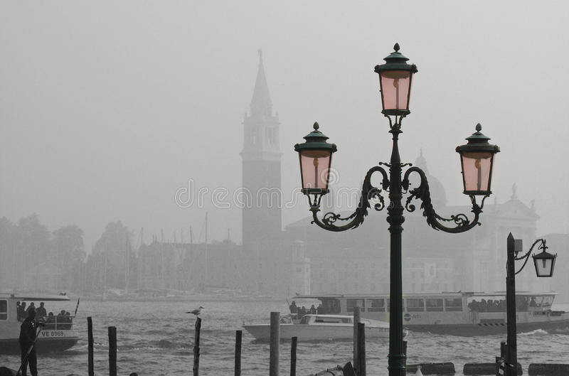 All Venedig i en royaltyfria bilder