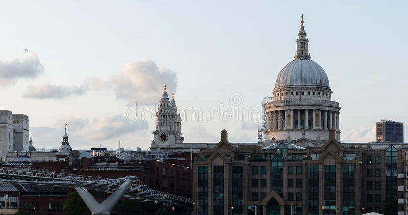 All the way to St Paul`s royalty free stock images
