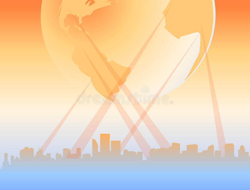 Download All The World Connected As One City Stock Vector - Image: 14051332