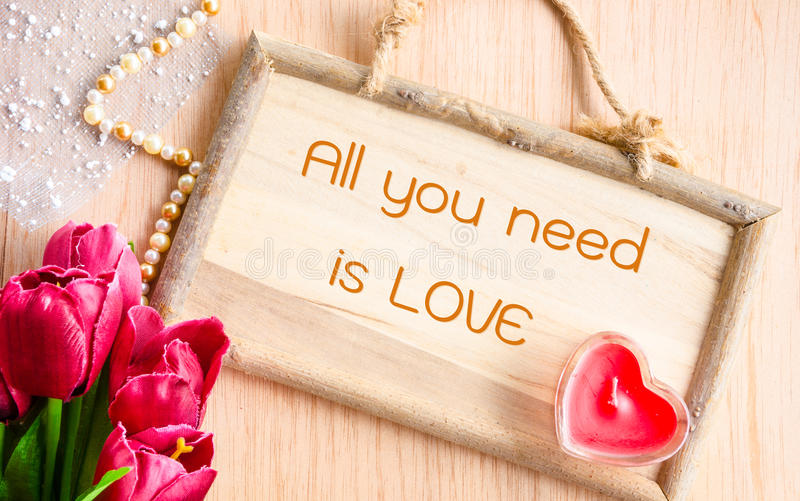 All you need is love. stock photos