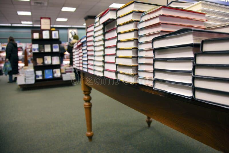 Alla libreria fotografia stock