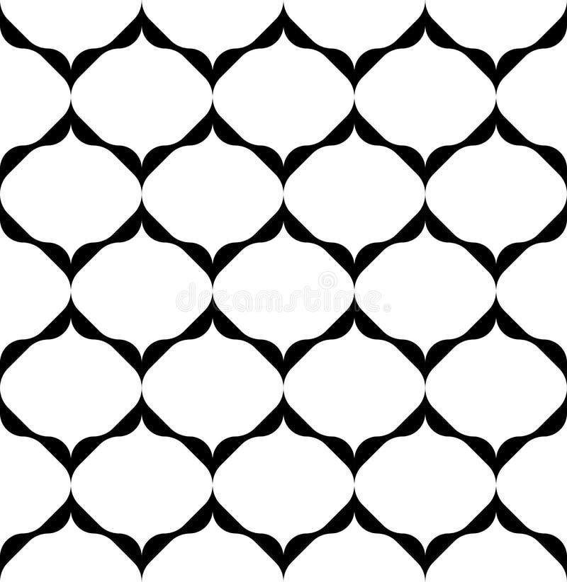 Download Alla Moda Moderno Del Modello Senza Cuciture Geometrico In Bianco E Nero, Sommario Illustrazione Vettoriale - Illustrazione di monocromatico, disegno: 56880301