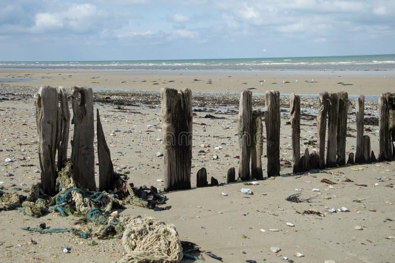 Alla spiaggia fotografie stock libere da diritti