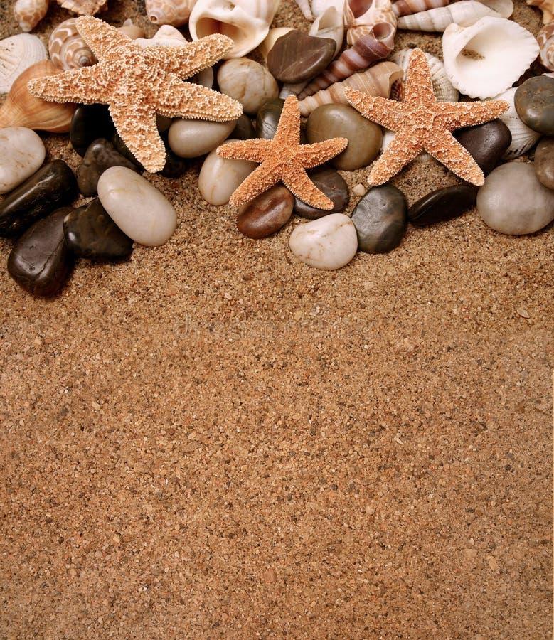 Alla spiaggia immagine stock libera da diritti