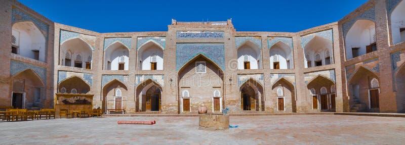 Allakuli Khan Madrasah, в Khiva, Узбекистан стоковое изображение rf