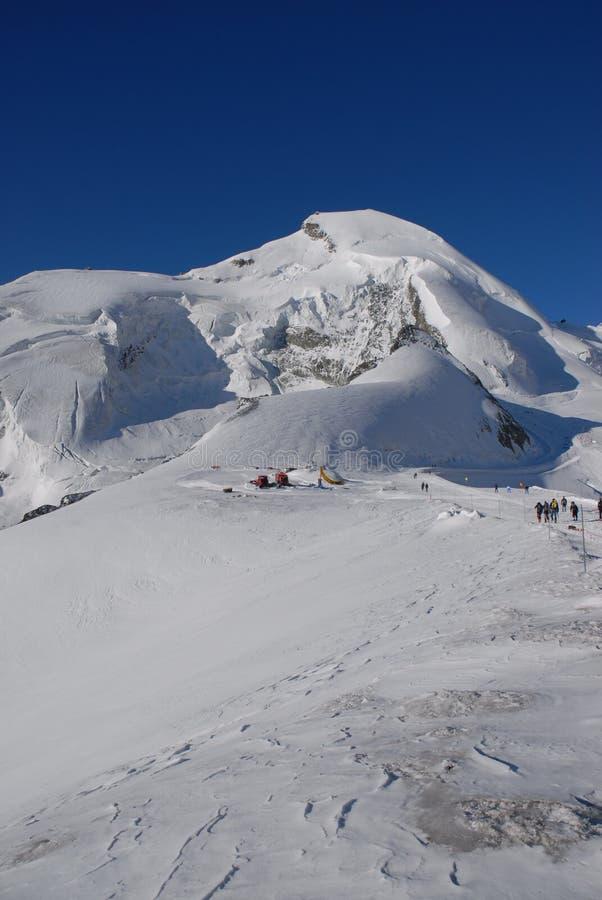 Download Allalinhorn stock photo. Image of saas, peak, switzerland - 1712808