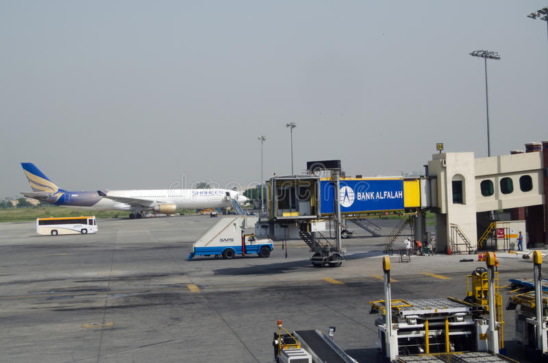 Allama Iqbal Airport, Lahore stock afbeeldingen