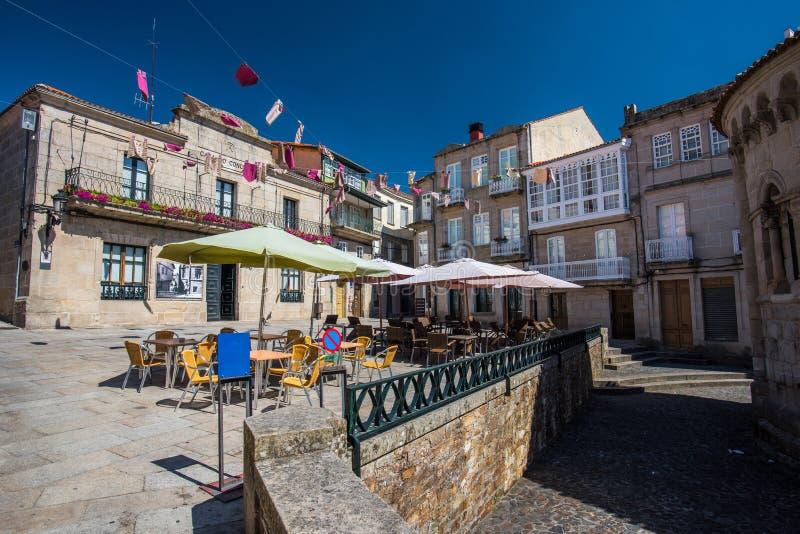 Allariz in Galizia immagine stock libera da diritti