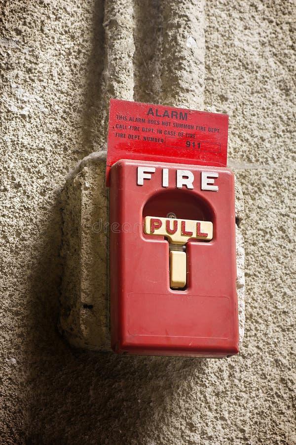 Allarme antincendio interno immagine stock libera da diritti