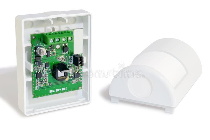 Allarme del sensore di moto fotografie stock libere da diritti