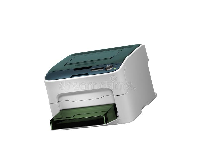 Alle in einem Drucker scaner lokalisiert lizenzfreies stockfoto