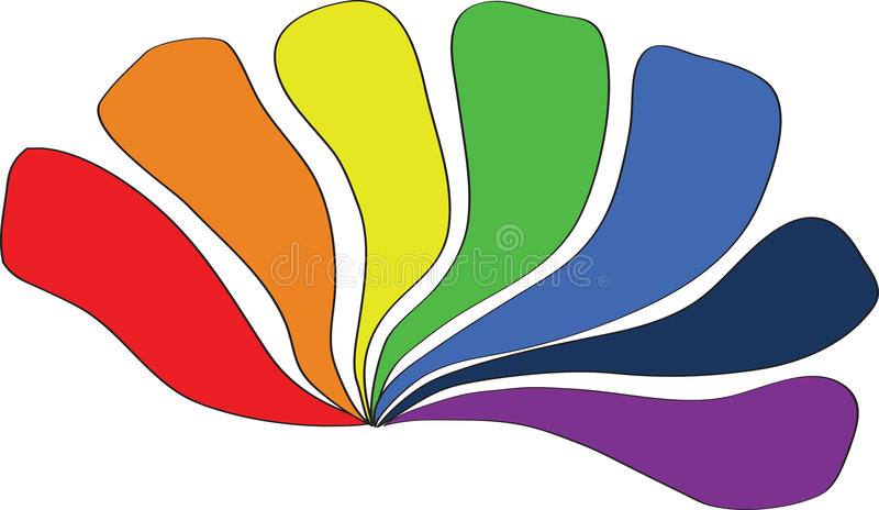 alle farben des regenbogens vektor abbildung illustration von hintergrund aufbau 23157814. Black Bedroom Furniture Sets. Home Design Ideas