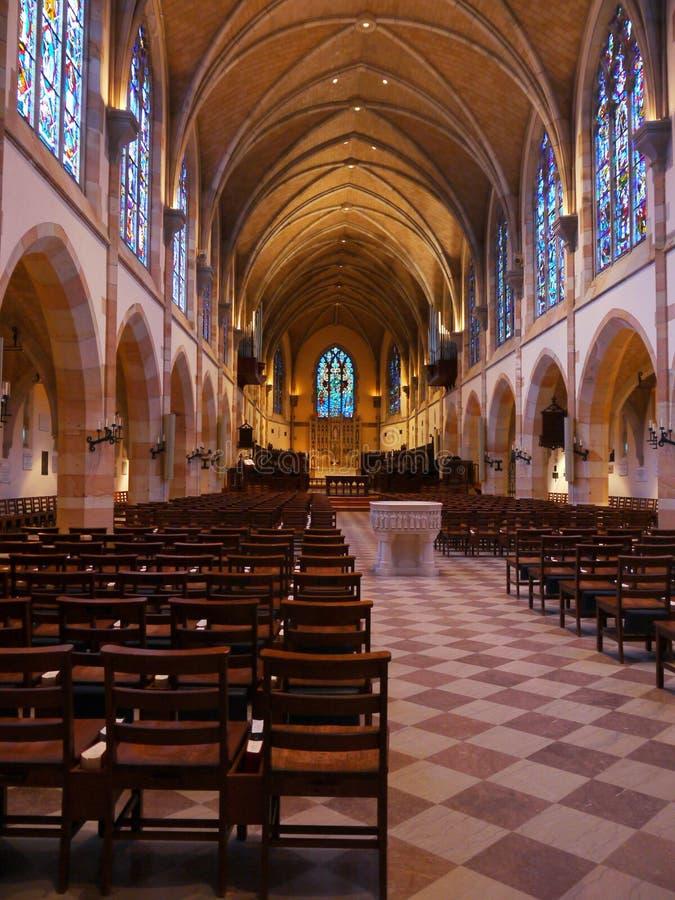 Alle Heilig-Kapelle--Sewanee, Tennessee lizenzfreie stockbilder