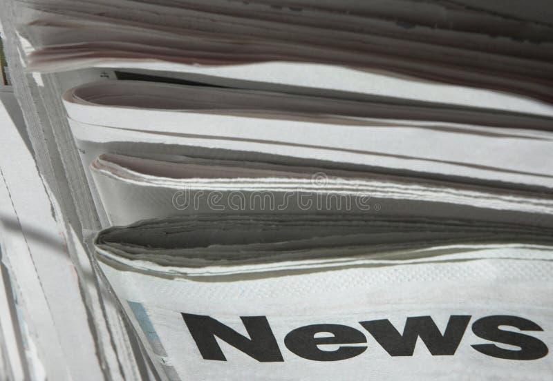 Alle Schlagzeilen lizenzfreies stockbild