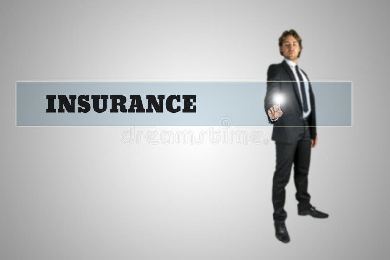 Alle Typen Versicherung stockbild