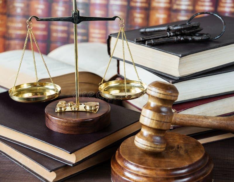 Allegoria di giustizia fotografia stock libera da diritti