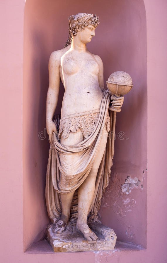 Allegorical statue royalty free stock photos