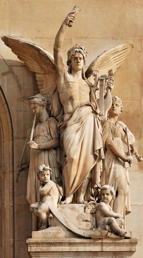 Download Allegory. stock image. Image of antique, mythology, baroque - 10987681
