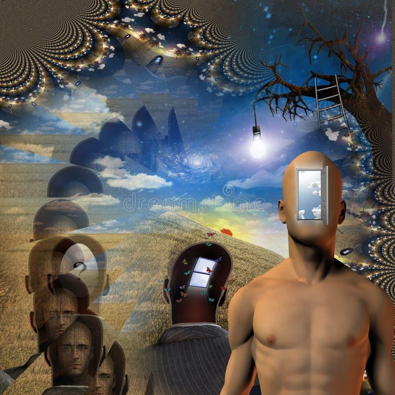 allegory ilustração royalty free
