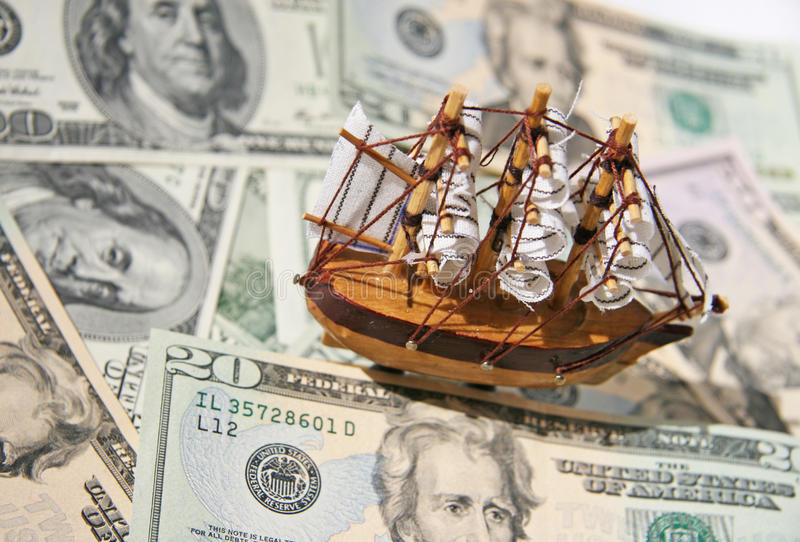 Download Allegory - Dollar Storm Stock Photo - Image: 28222030
