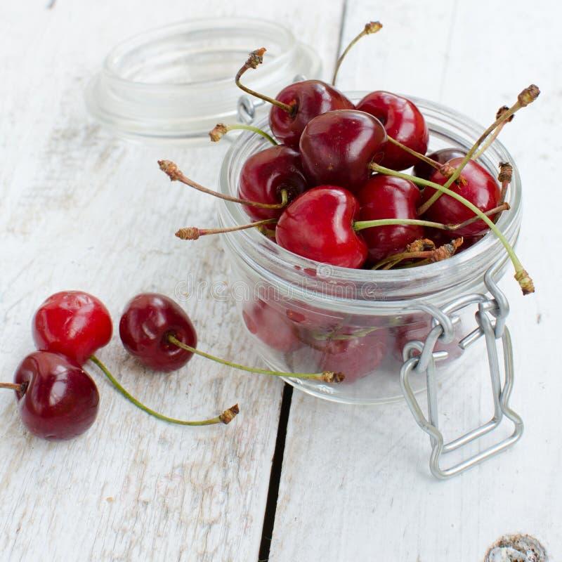 Allegro dolce della ciliegia selvatica immagini stock