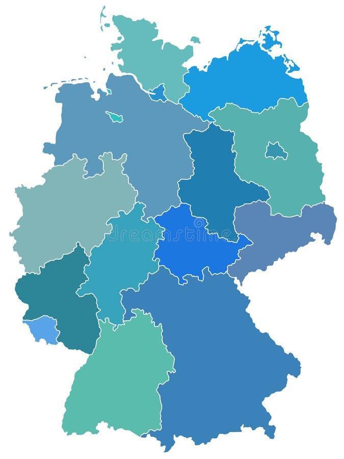 Allemagne illustration libre de droits