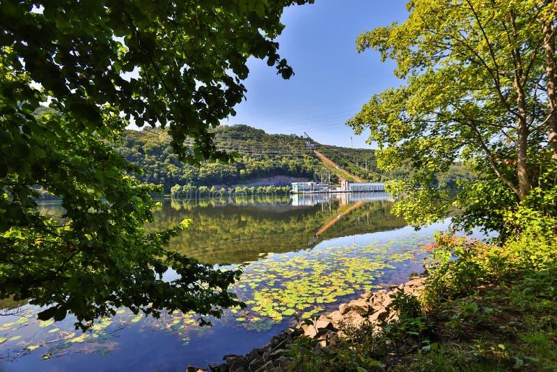 Allemagne du lac Hagen de Hengsteysee images stock