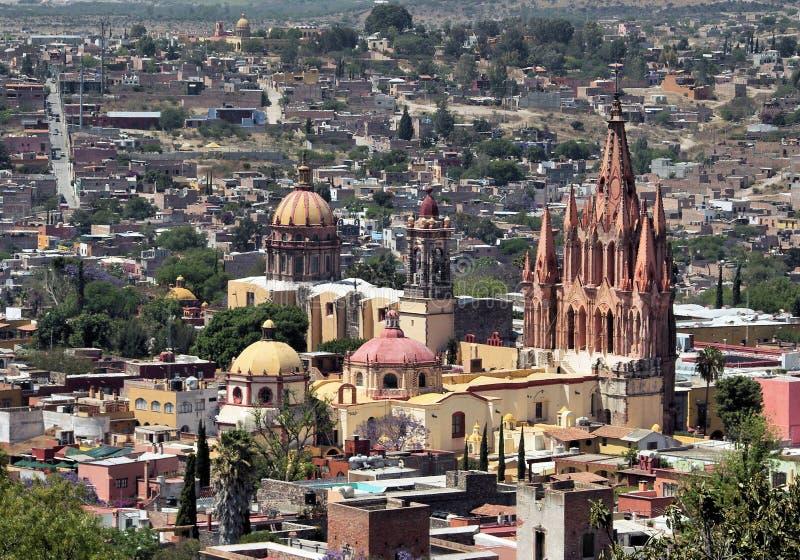 allende San Miguel De Centrum zdjęcie stock
