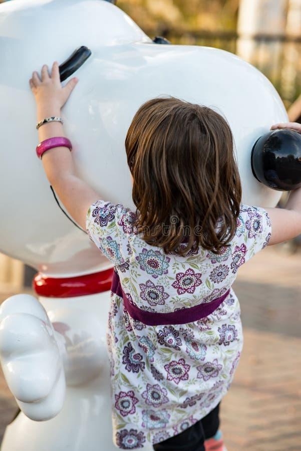 ALLENTOWN, PA - 22. OKTOBER: Planet Snoopy an Dorney-Park in Allentown, Pennsylvania lizenzfreies stockbild