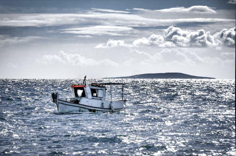 Aller pour la pêche image stock