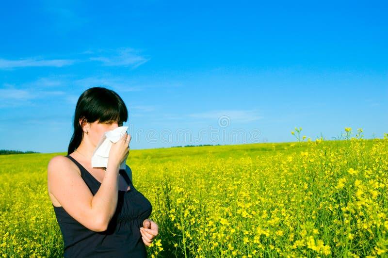 Download Allergi fotografering för bildbyråer. Bild av silkespapper - 19792347