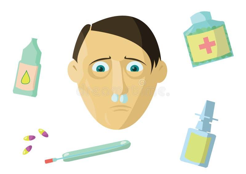 Allergic Rhinitis Stock Image