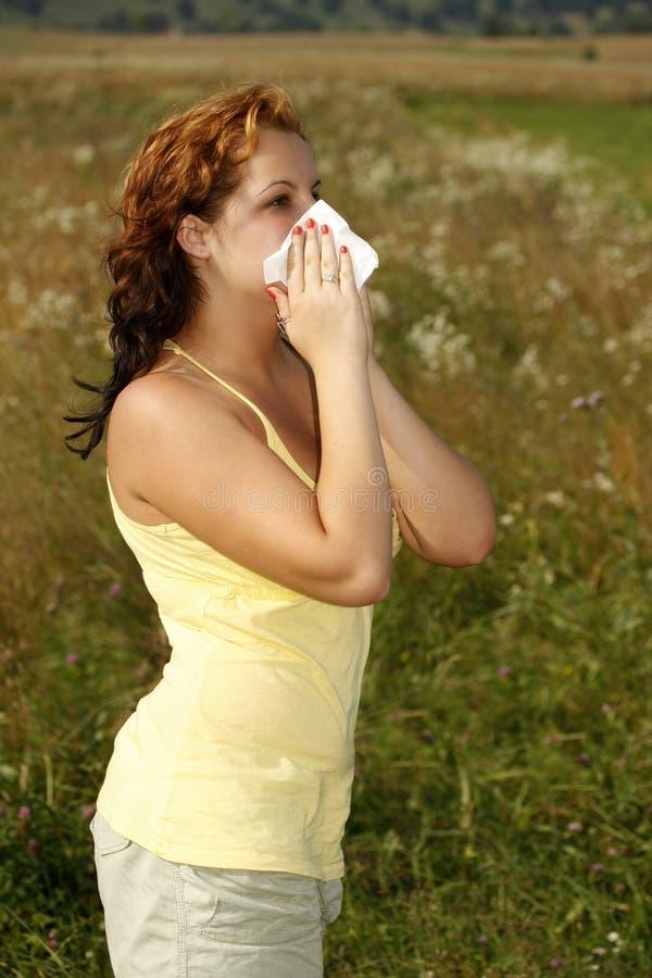 Allergie royalty-vrije stock fotografie