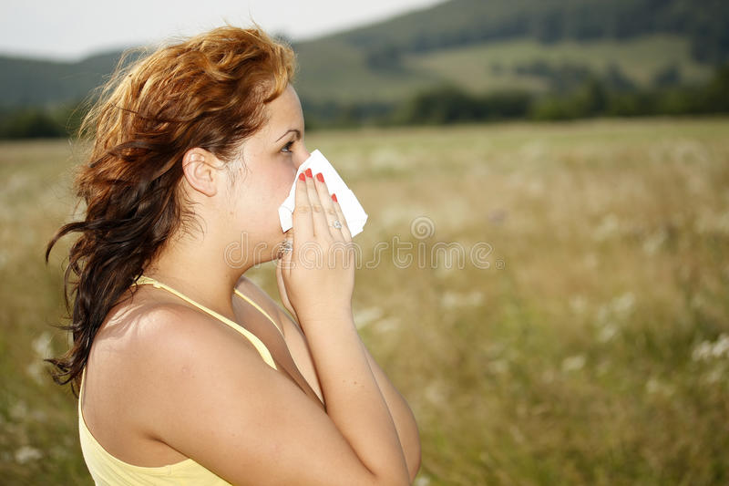 Allergie images stock