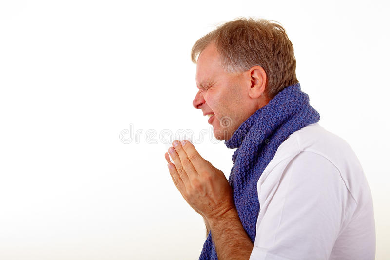 Allergie stockbild