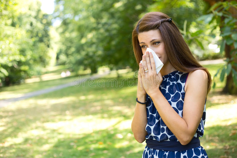 allergie royalty-vrije stock afbeeldingen