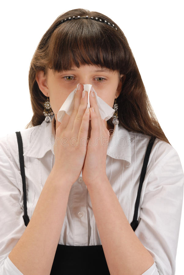 Allergie royalty-vrije stock foto's