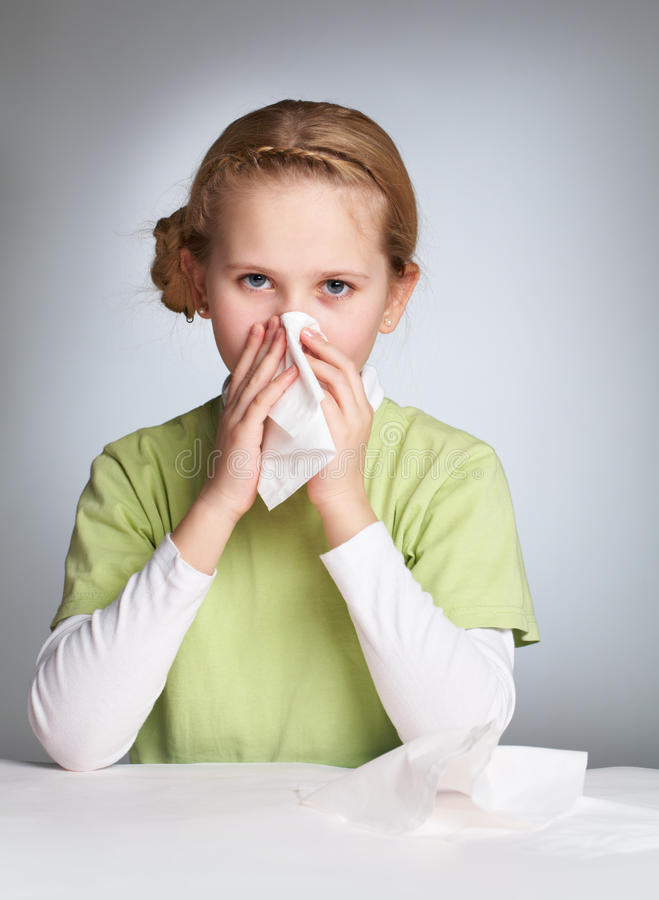 allergin arkivfoton