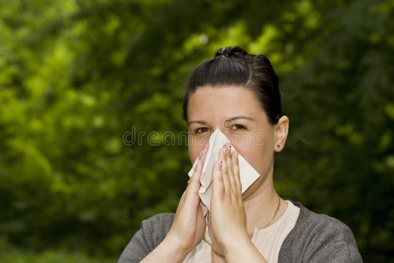 Download Allergy stock photo. Image of sneeze, green, season, leaf - 14526668