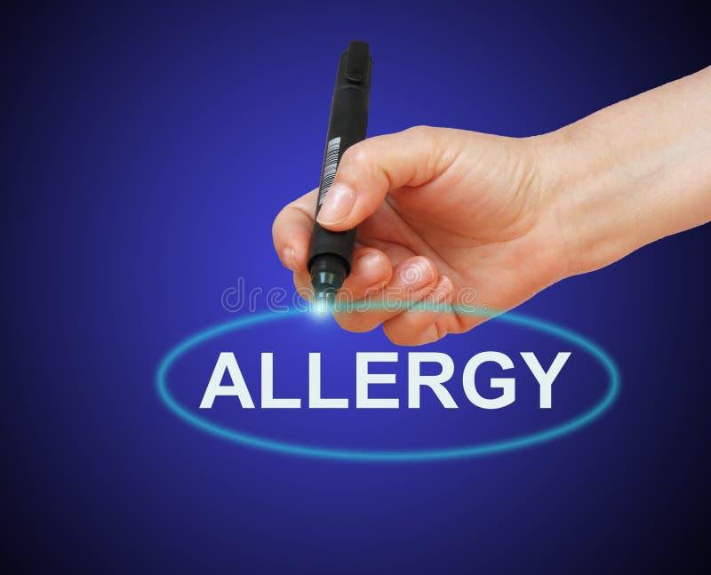 allergy ilustração royalty free