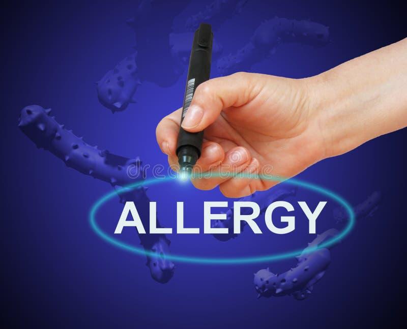 allergy ilustração do vetor